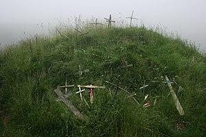 Roncevaux Pass - Image: Roncesvalles crosses