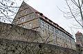 Rothenburg ob der Tauber, Stadtbefestigung, Spitalhofmauer, 003.jpg