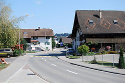 Skyline of Rottenschwil