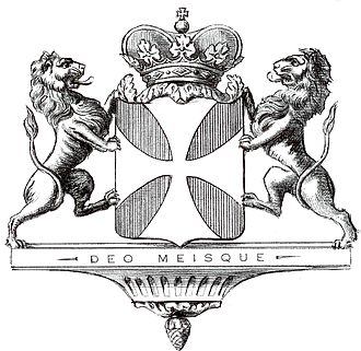 Suzanne du Plessis-Bellière - Coat of Arms of the House of Rougé