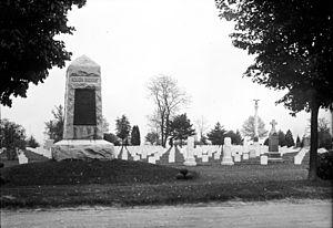 Rough Riders Memorial - The Rough Riders Memorial in 1912.