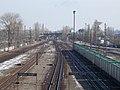 Route 4 over Budapest–Cegléd–Szolnok railway line, 2018 Kispest.jpg