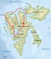 Route der Junkers-Spitzbergen-Expedition.png