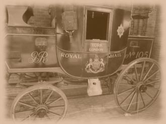 Stockwood Park - Royal Mail Horse Drawn cart by David Marchant