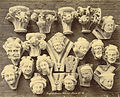 Royal Architectural Museum. Plaster Casts (Capitals and Grotesques) from Salisbury Cathedral (3611581656).jpg