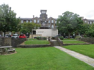 East Lancashire Hospitals NHS Trust - Original Workhouse now the Royal Blackburn Teaching Hospital Learning Centre and Park View Offices