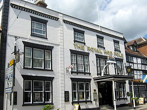 Tewkesbury - The Royal Hop Pole, mentioned in 'The Pickwick papers'