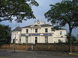 Royal Orthopaedic Hospital, Birmingham, England-2July2006.jpg