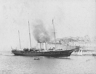 HMY Alexandra - HMY Alexandra, Malta, 1911