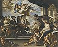 Rubens dipinge l'allegoria della pace - Luca Giordano.jpg