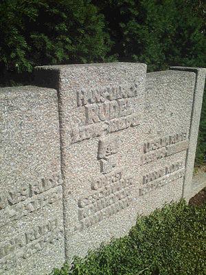 Hans-Ulrich Rudel - Rudel's grave in Dornhausen