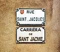 Rue Saint-Jacques (Toulouse) - Plaques.jpg