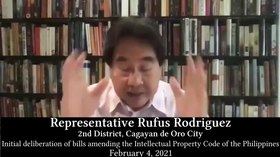 File:Rufus Rodriguez on proposal of inclusion of Freedom of Panorama in Philippine Copyright Law.webm
