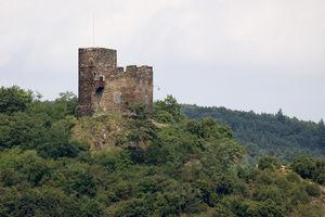 Nollig Castle - Image: Ruine Nollig JR E 518 2010 08 10