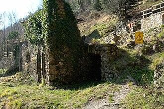 Sant'Anna di Stazzema - Ruins of the village in 2008