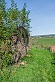 Ruins of the castle Beaucaire in Nauviale 02.jpg