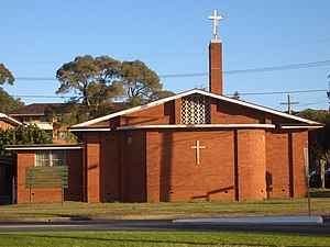 Russell Lea, New South Wales - St Andrews Anglican Church