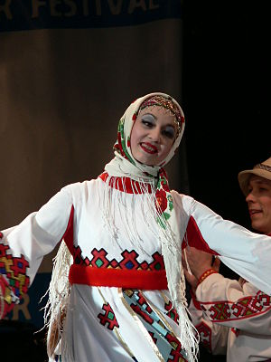 Chuvash people - Image: Russian Winter Festival London 2007 119