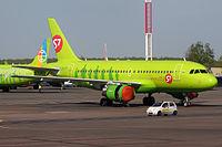 VP-BTU - A319 - S7 Airlines