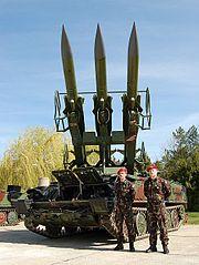 SA-6 'KUB' missile system exercise!