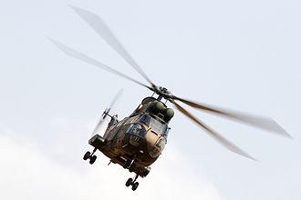 19 Squadron SAAF - SAAF Aérospatiale SA 330 Puma, similar to that flown by the squadron