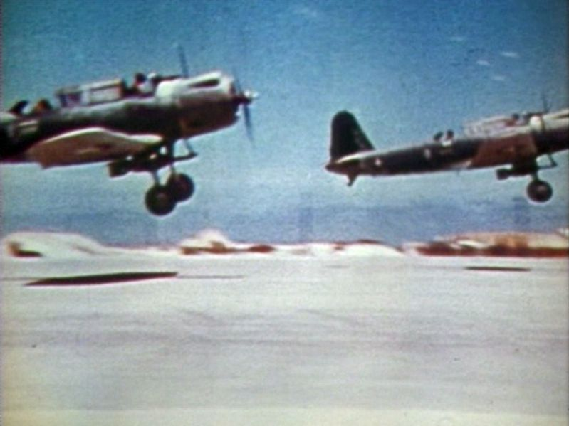 File Sb2us Taking Off Midway 2 Jun 1942 Jpg Wikimedia