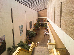 Stony Brook University - Atrium of the Frank Melville Jr. Memorial Library