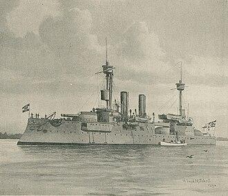Brandenburg-class battleship - Image: SMS Brandenburg