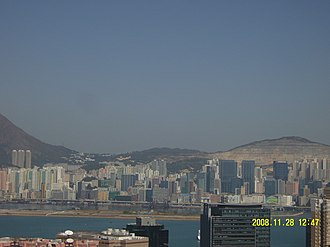 New Kowloon - The region between Kowloon Bay and Yau Tong is part of New Kowloon