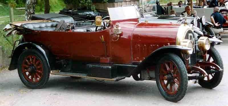 SPA 50 HP 9000 1914