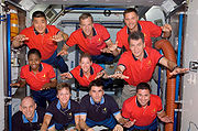 STS-120 Two Crews