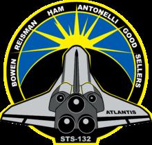 Missionsemblem STS-132