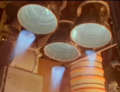 STS-93 SSME Hydrogen Coolant Nozzle Leak at Liftoff.png