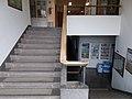 SZIU Buda Campus, stairs between Department of Urban Planning and Design and Department of Entomology, 2019 Szentimreváros.jpg