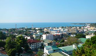 La Union - View of San Fernando City, the provincial capital