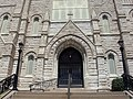 Sacred Heart Cathedral - Davenport, Iowa main entrance.JPG