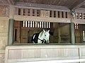 """Sacred Horse """"Emitomo"""" in Miumaya House of Toyouke Grand Shrine 1.jpg"""