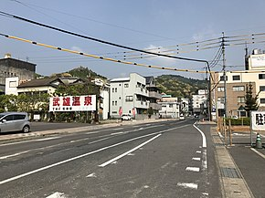 Saga Prefectural Road No.253 in Takeo, Saga.jpg