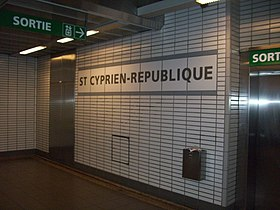 Image illustrative de l'article Saint-Cyprien – République (métro de Toulouse)