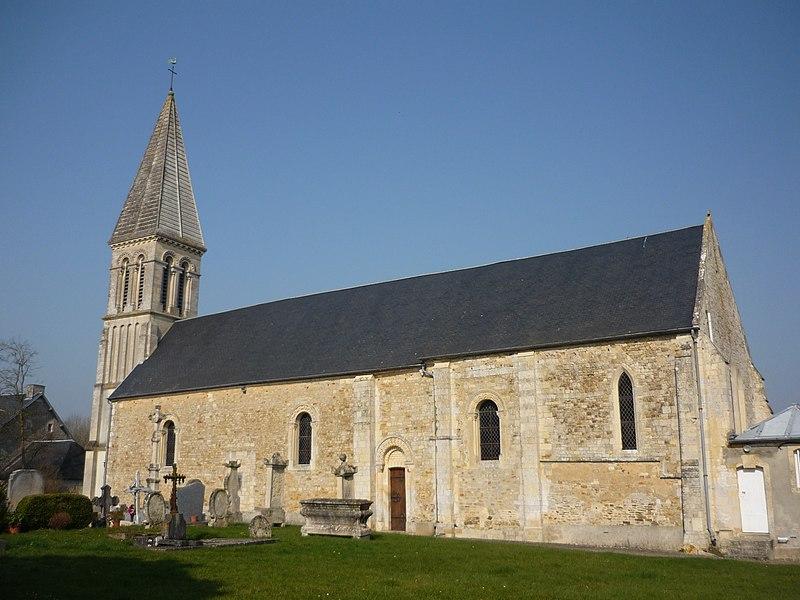 Église Saint-Vaast de Saint-Vaast-sur-Seulles (Calvados)