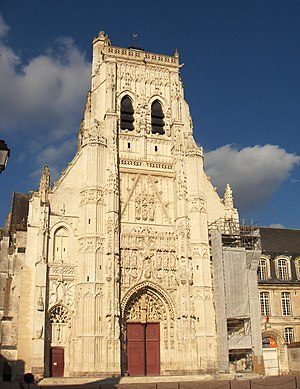 Saint-Riquier - Abbey church, Saint-Riquier