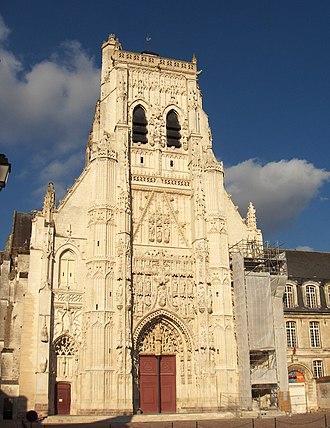 Saint-Riquier - Abbey church, Saint-Riquier