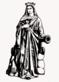 Saint Barbara with cannon.png