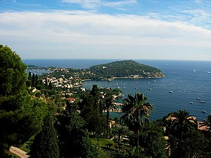 Saint-Jean-Cap-Ferrat - A view of the bay at Saint-Jean-Cap-Ferrat