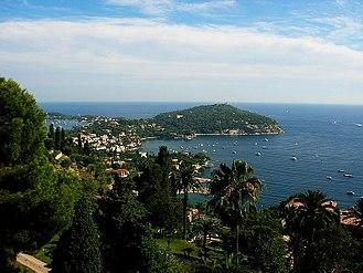 Saint-Jean-Cap-Ferrat - A view of the bay at Saint-Jean-Cap-Ferrat