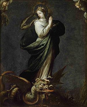 Felice Riccio - Saint Margaret of Antioch by Felice Riccio