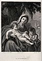 Saint Mary (the Blessed Virgin) with the Christ Child and Sa Wellcome V0033945.jpg