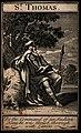 Saint Thomas. Engraving. Wellcome V0033091.jpg