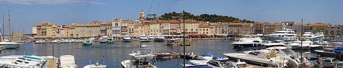 Port de Saint-Tropez aujourd'hui