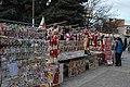 Sale of martenitsas in Botevgrad 01.jpg